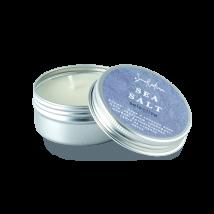 Свеча ароматическая из соевого воска «Морская соль», Smorodina