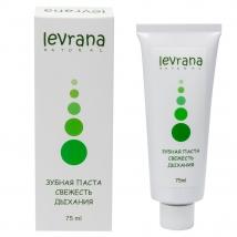 Зубная паста Свежесть дыхания, натуральная, Levrana