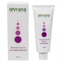 Зубная паста Антимикробная с лавандой и магнолией, натуральная, Levrana