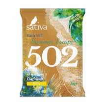 Вуаль для ванны №502 Побег в жаркое лето 15г, Sativa