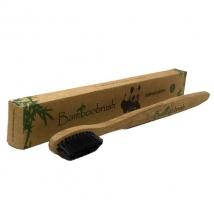 Зубная щетка из бамбука с угольным напылением Мягкая (Mini) от 4 лет