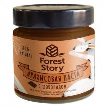 Паста арахисовая с шоколадом Forest Story (180г), Сибирский кедр