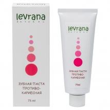 Зубная паста Противокариесная, натуральная, Levrana