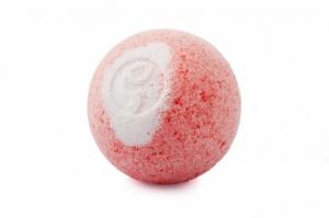 """Бурлящий шарик для ванны с увлажняющими маслами """"Клубничный Мусс"""" Savonry"""