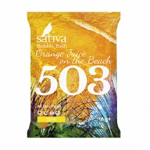 Пена для ванны №503 Апельсиновый фреш на пляже (15г), Sativa