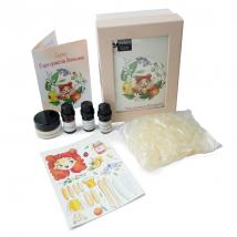 Набор для девочек Фея ароматов Апельсинка, туалетное мыло, Mi&ko