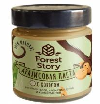 Паста арахисовая с кокосом Forest Story (180г), Сибирский кедр