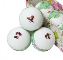 """Бурлящий шарик для ванны """"Любовь к натуральному"""" Pretty Garden"""