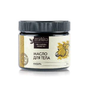 Масло для тела антицеллюлитное Имбирь разогревающее 60 мл, MiKo